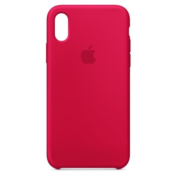 iphone x coque red