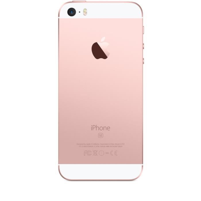 apple iphone se 16go rose gold boite d 39 origine achat smartphone pas cher avis et meilleur. Black Bedroom Furniture Sets. Home Design Ideas