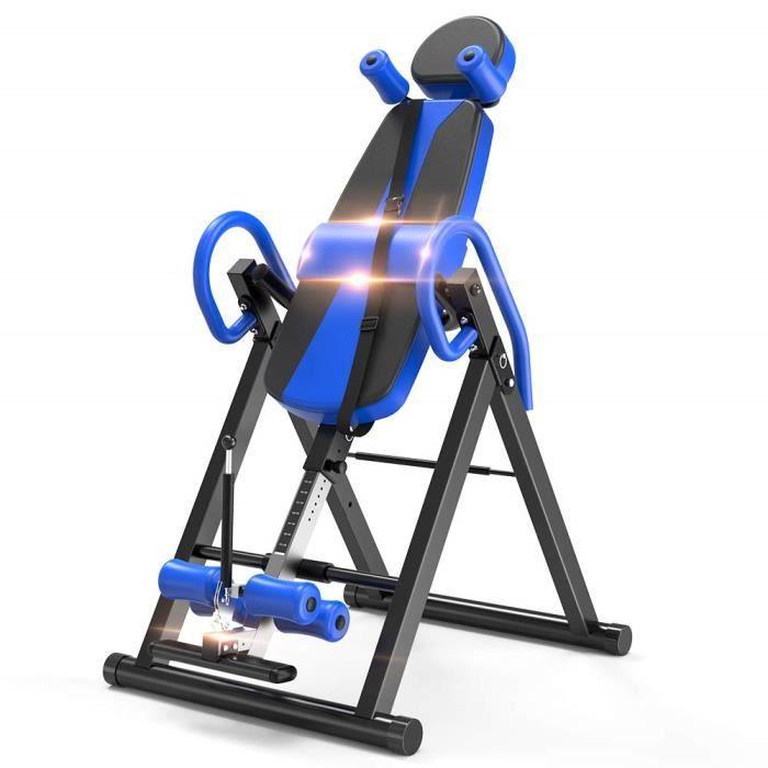 HiverSupport Musculation Appareil du Réglable Bureau Taille Dos Bras d'Inversion Table Maison Exercice 150kg Pliable jusqu'à Sport 13TlKFcJ