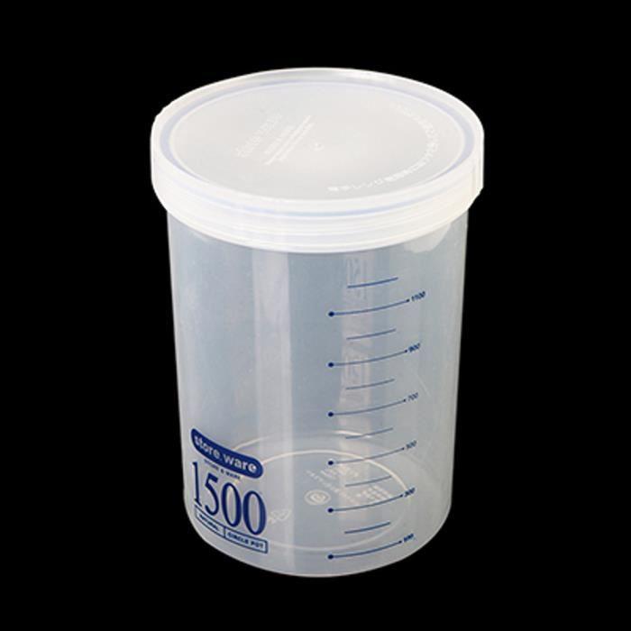 BOITE DE RANGEMENT Boîtes scellées de cuisine en plastique Boîte de r