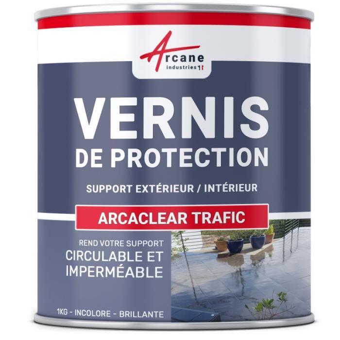 Vernis De Protection Polyurethane 1 Kg Achat Vente Kit D Etancheite Arcaclear Trafic Cdiscount