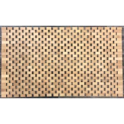Tapis salle de bain Bambou - Achat / Vente tapis de bain ...