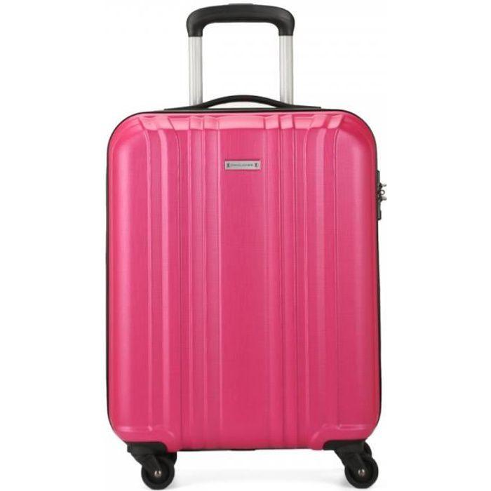 Valise Trolley Valise voyage rigide valises bagages à main Pin Rose Gold L