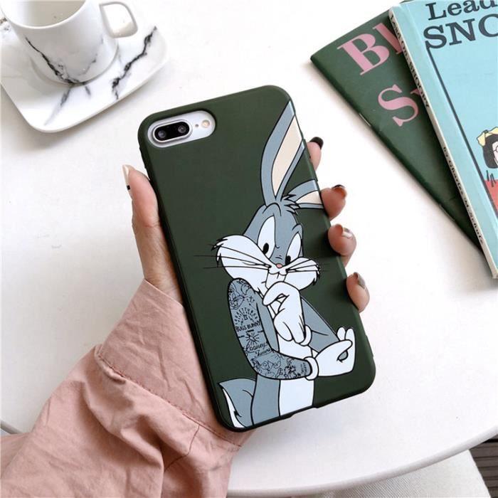 coque iphone 7 plus 8 plus disney lapin vert antic