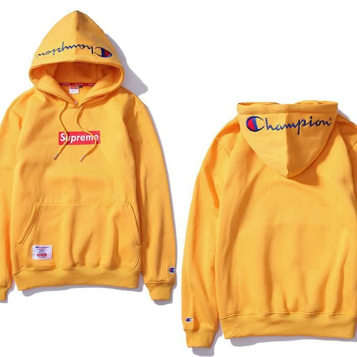 Célèbre Champion&Supreme sweat-shirt/pull-over homme femme hoodies-hooded  BA64