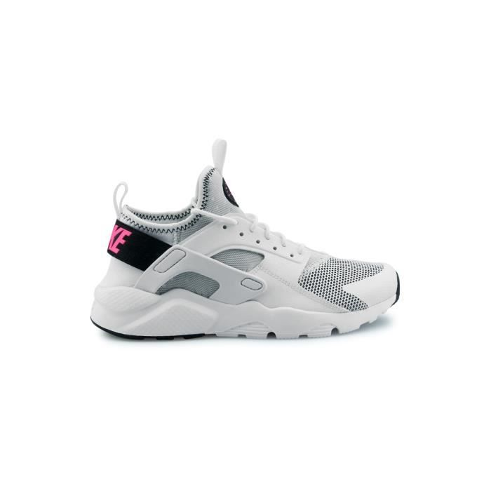 Basket Nike Air Huarache Run Ultra Junior Blanc 847568 Blanc