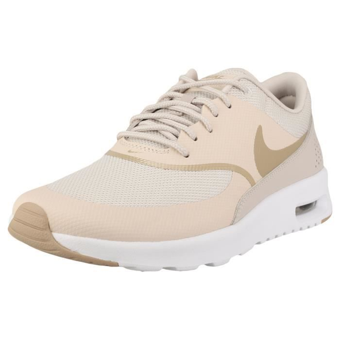 7ae748ab7c0 Nike Air Max Thea Femme Baskets Le sable Marron Le sable - Achat ...
