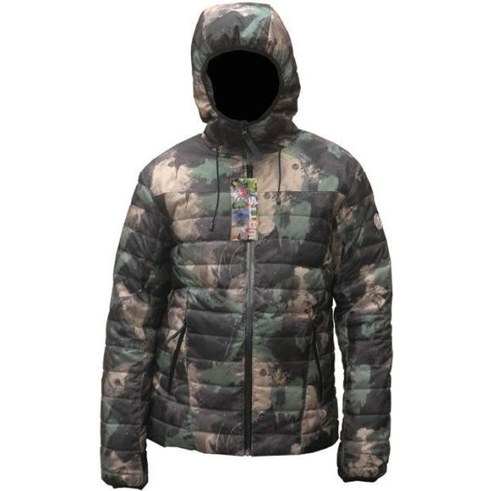 Gorre1 10624 camouflage Doudoune WATTS Homme 0wXnOPk8