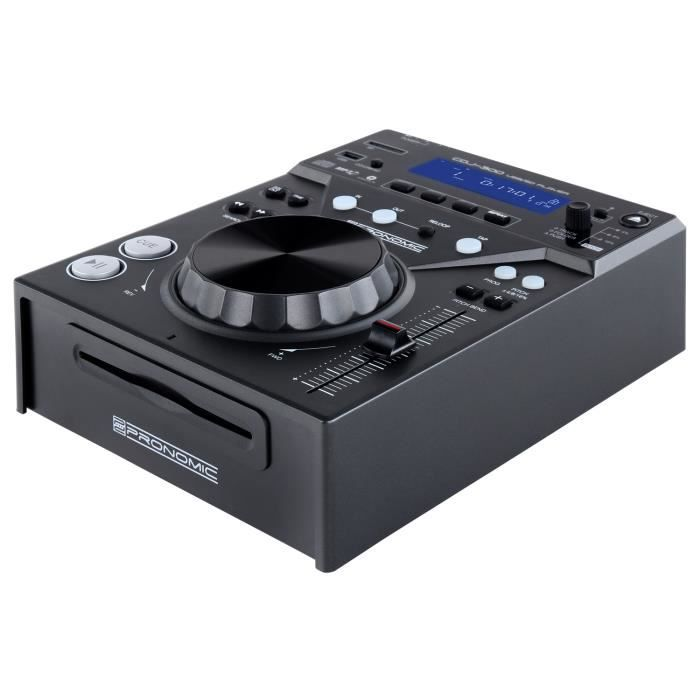 pronomic cdj 300 usb sd mp3 lecteur cd table de mixage. Black Bedroom Furniture Sets. Home Design Ideas