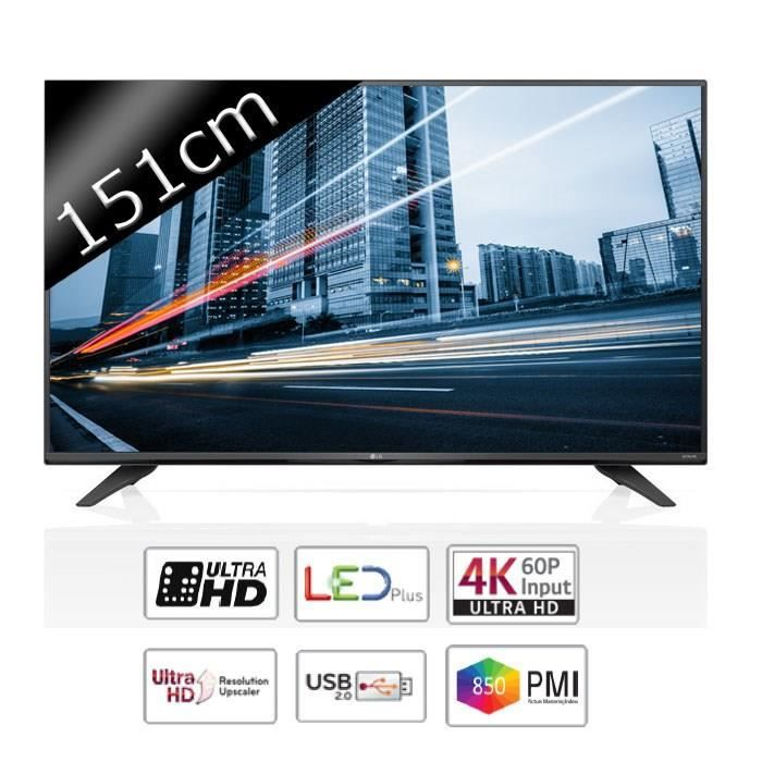 lg 60uf671v tv led ultra hd 4k 151cm 60 850hz. Black Bedroom Furniture Sets. Home Design Ideas