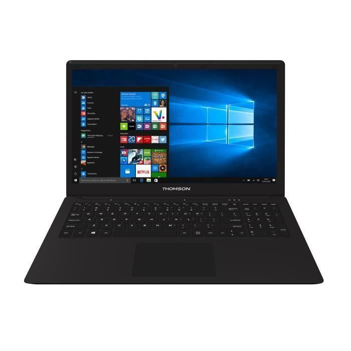 "ORDINATEUR PORTABLE THOMSON PC Portable Notebook NEO15C-4BK500 15,6"" F"
