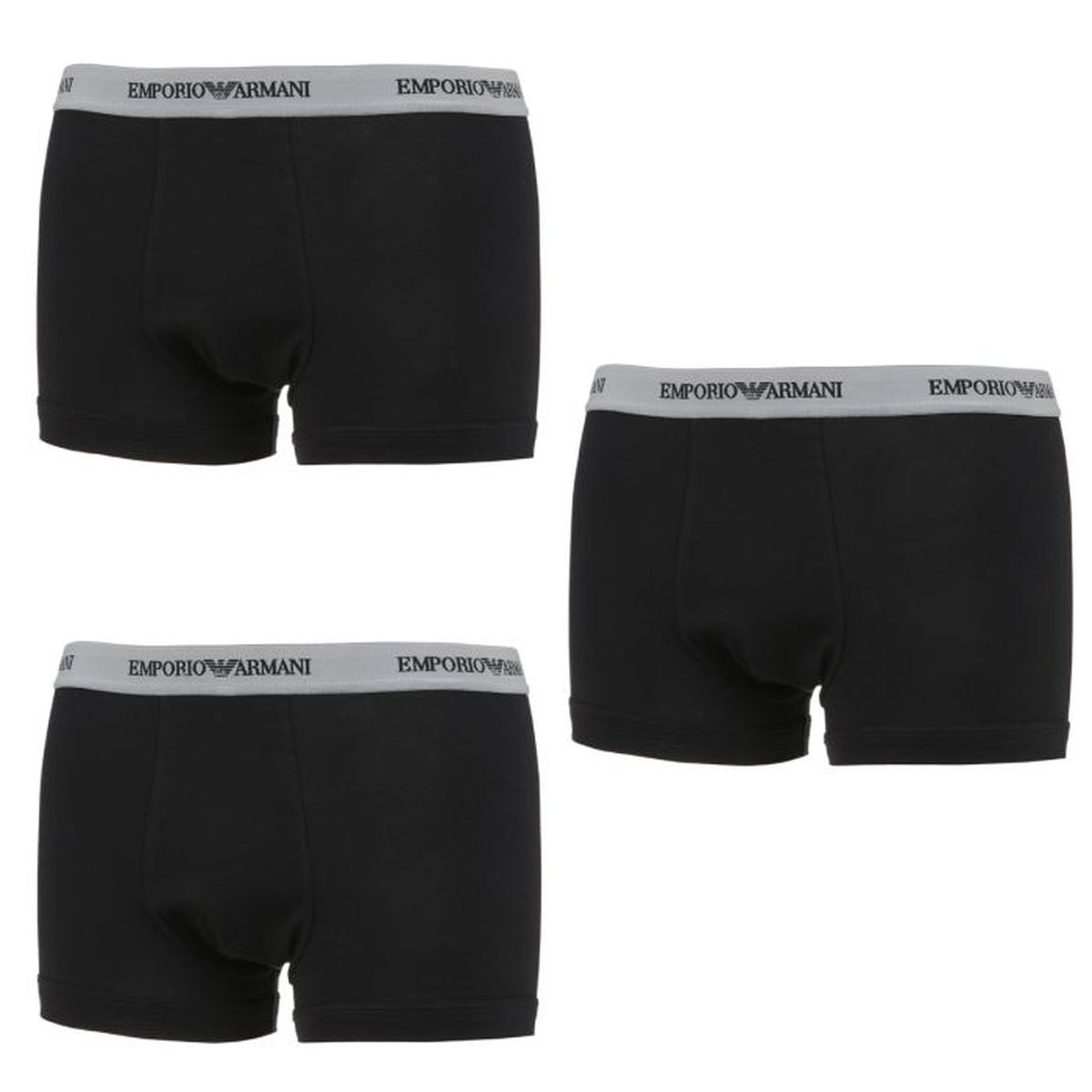 EMPORIO ARMANI 3 Packs Boxers Trunk Homme