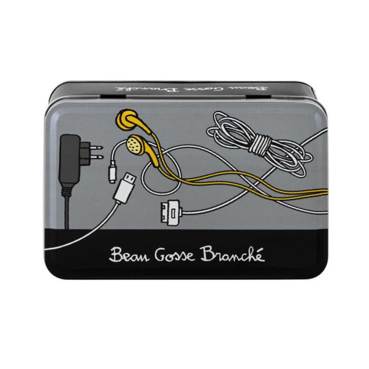 Boite Cache Prise Electrique boîte de rangement à chargeurs & câbles beau gosse branchÉ