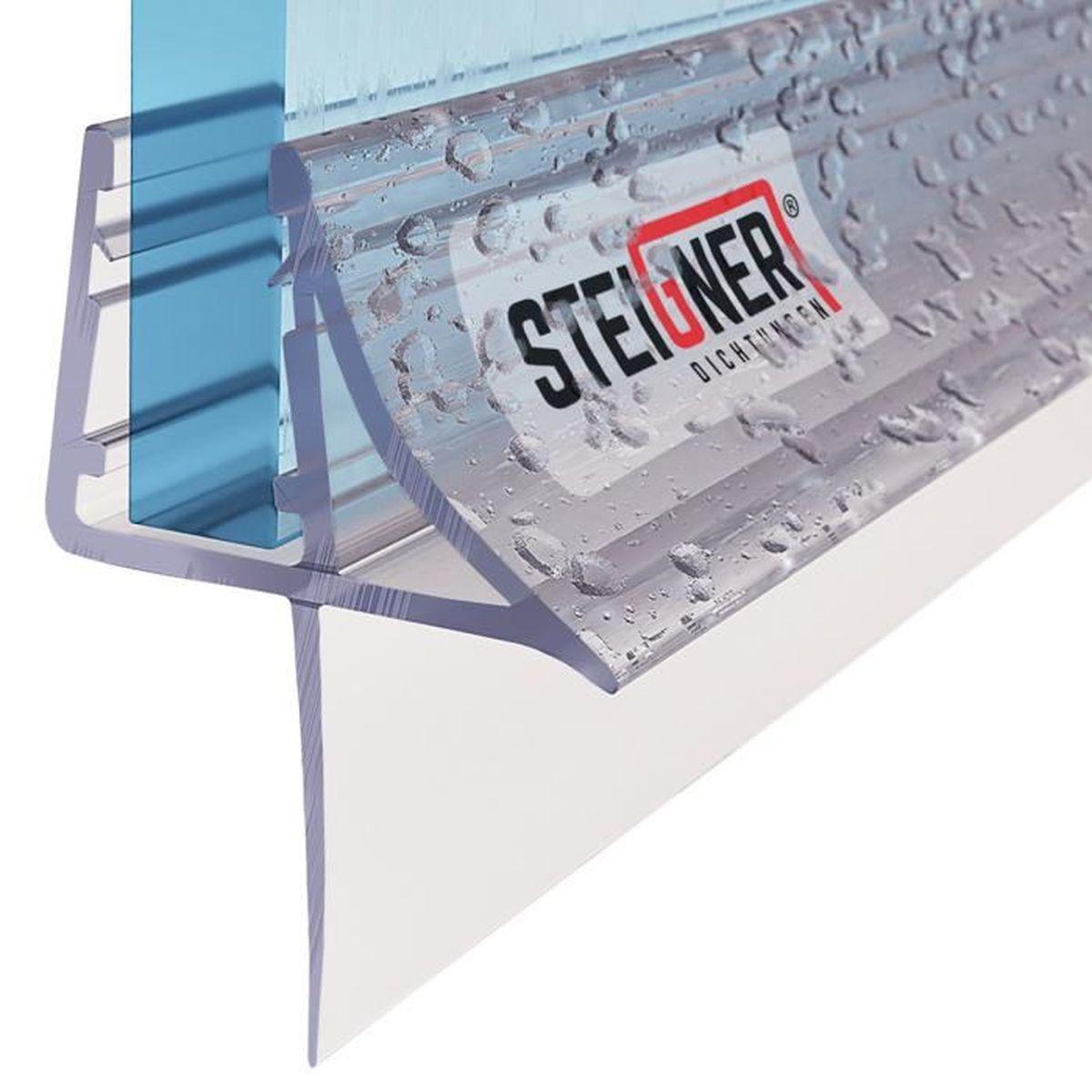 STEIGNER 100cm Joint d/étanch/éit/é de remplacement pour les vitres d/'une /épaisseur 5// 6mm UK24-06