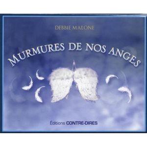 LIVRE PARANORMAL Murmures de nos anges. Avec 52 cartes oracle