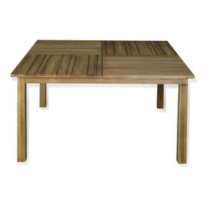 Table salon de jardin carre achat vente table salon de for Table de jardin carre