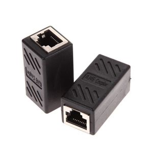 CÂBLE RÉSEAU  adaptateur de câble Ethernet coupleur RJ45 2Pack f