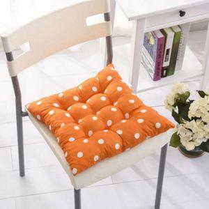 COUSSIN DE CHAISE  Chaise durable Coussin à pois Jardin Salle à mange
