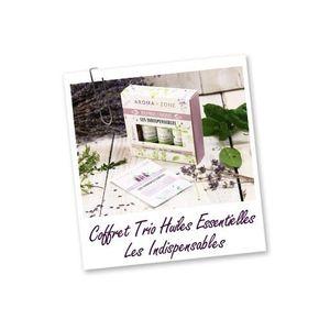 HUILE ESSENTIELLE AROMA ZONE COFFRET TRIO D'HUILES ESSENTIELLES - LE