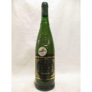 VIN BLANC picpoul de pinet duc de morny blanc 1996 - langued