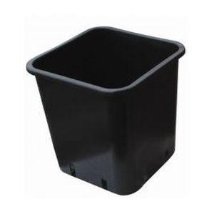 JARDINIÈRE - BAC A FLEUR Pot carré 23X23X26 11L