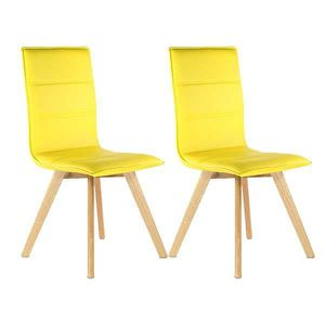 chaises de salle a manger jaune achat vente chaises de. Black Bedroom Furniture Sets. Home Design Ideas