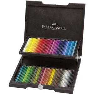 CRAYON DE COULEUR FABER-CASTELL Coffret de 72 Crayons de couleur Pol
