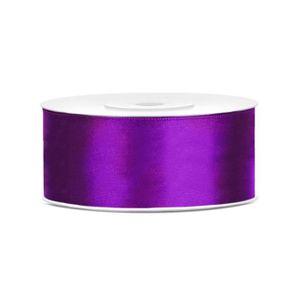 Ruban en Satin Double face Argent/é 16 mm-Largeur : 25 m bobine pleine id/éal pour Papiers cadeaux ou fleurs