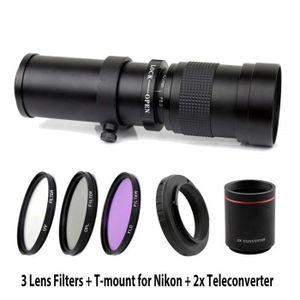 OBJECTIF 420-1600mm F / 8.3-16 Super téléobjectif zoom manu