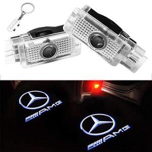 LIKECAR 2pcs Car LED Projecteur de La Lampe de la porte Ghost Shadow Bienvenue lumi/ère laser Kit de politesse
