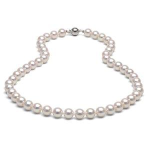 SAUTOIR ET COLLIER Collier Perles de culture blanches 91 cm !