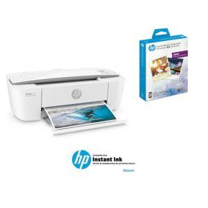 IMPRIMANTE HP Imprimante compacte 3720+ Papier snapshots adhé