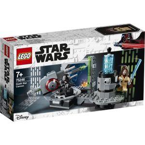 ASSEMBLAGE CONSTRUCTION LEGO® Star Wars™ 75246 Le canon de l'Étoile de la