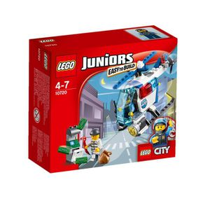 ASSEMBLAGE CONSTRUCTION LEGO® Juniors 10720 La Poursuite En Hélicoptère de