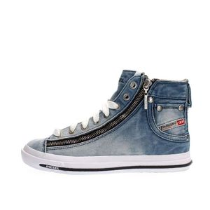 Réduction authentique basket diesel femme jeans Baskets ... 9d4976072c06
