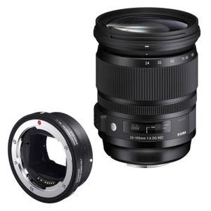 OBJECTIF SIGMA Objectif 24-105 mm f/4 DG OS HSM ART monture