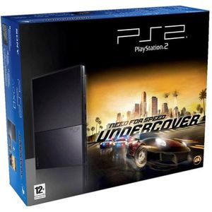 CONSOLE PS1 Console Playstation 2 PACK Need for speed : underc