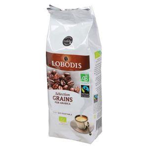 CAFÉ LOBODIS Café Sélection Grains Pur Arabica Bio - 25