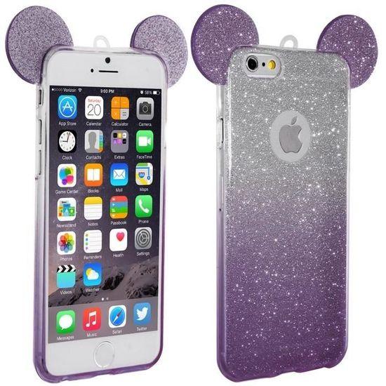 coque iphone 7 oreille de mickey