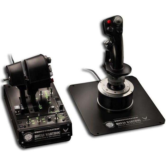 THRUSTMASTER Joystick HOTAS WARTHOG - PC