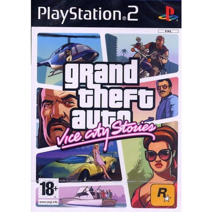 JEU PS2 GTA VICE CITY STORIES / Jeu console PS2