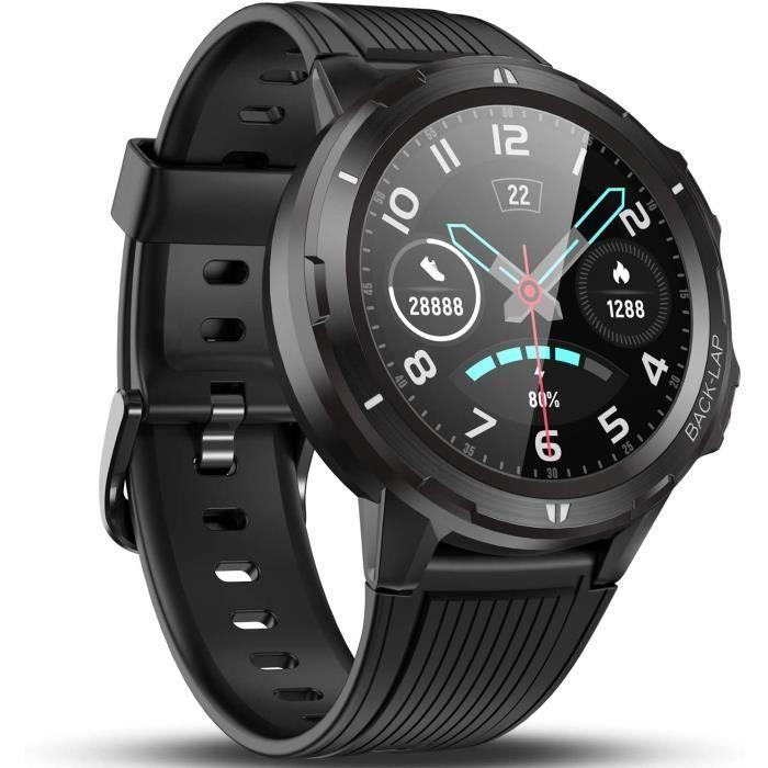 Vigorun Montre Connectée Smartwatch Homme Femme, Moniteur de fréquence Cardiaque, Moniteur de Sommeil, Podomètre, Autonomie de 14 Jo