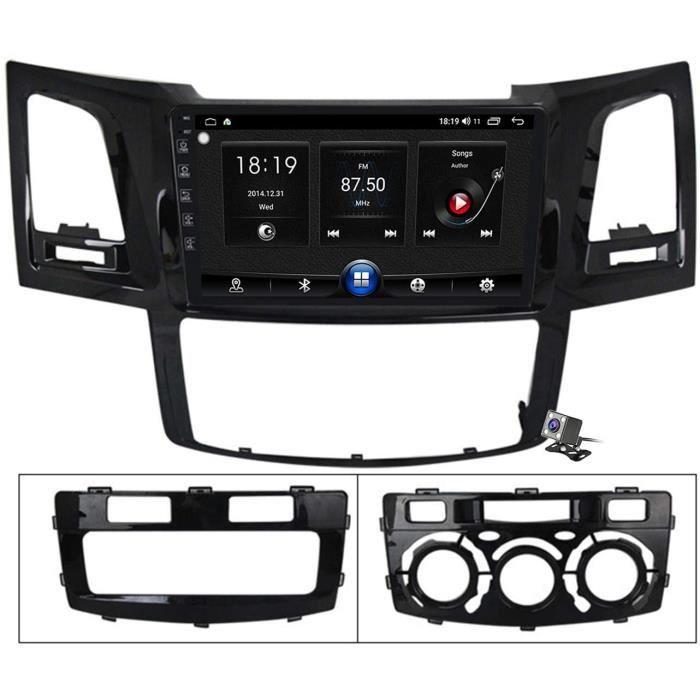 AUTORADIO Buladala Android 10 9 Pouces Stereo Multimedia GPS Navigation pour Toyota Fortuner Hilux 20082014 avec FM RDS Autoradio359