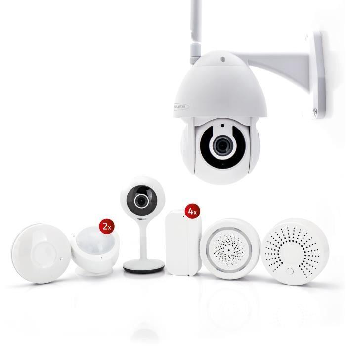 CALIBER Home security set de luxe - Pack alarme