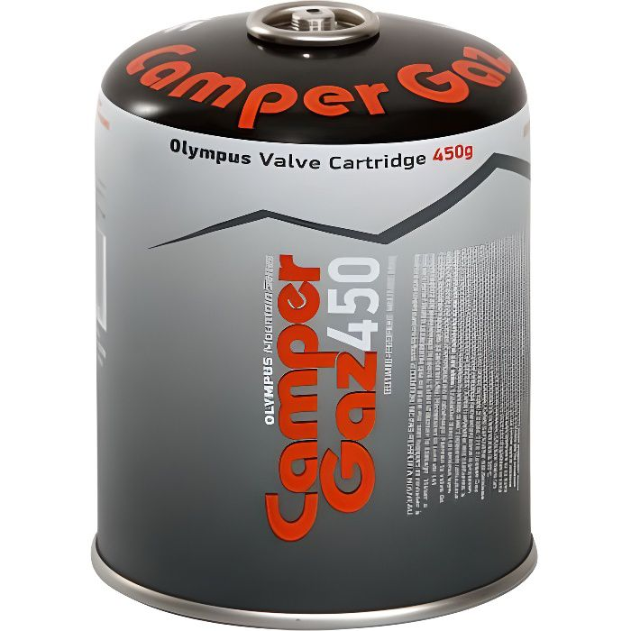 Cartouche gaz Butane / Propane MIX 450gr CAMPER GAZ Bouteille de gaz camping Réchauds Barbecues Appareils à gaz