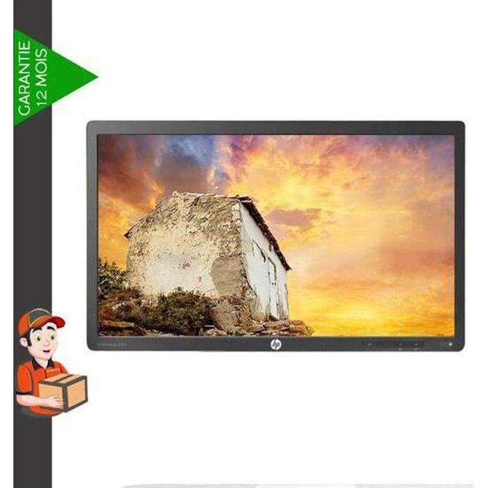 ecran PC HP EliteDisplay E201 Sans pied DVI-D • VGA • DisplayPort