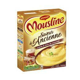 Maggi Purée mousline saveur à l'ancienne crème et noix de muscade 500g