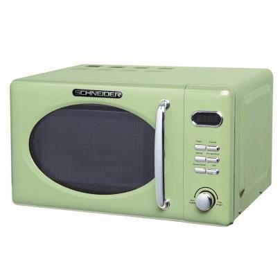 Schneider MW 720 SG Retro Micro-ondes Vert