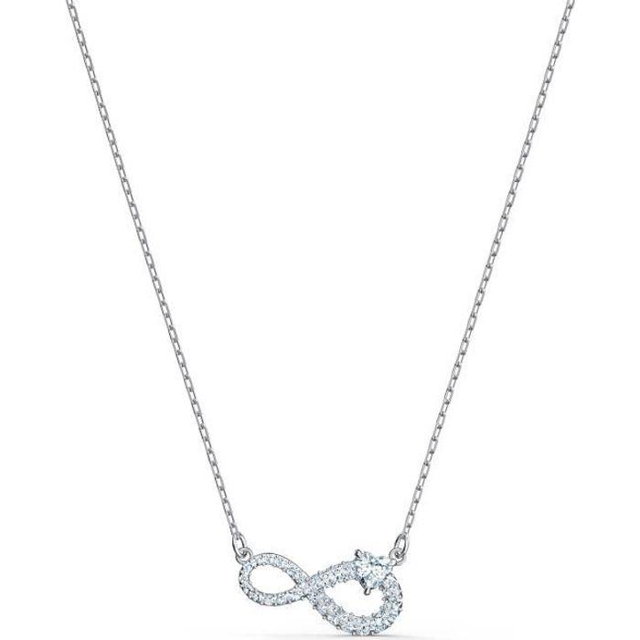 Sautoir - Collier - SWAROVSKI - Collier Swarovski Infinity blanc