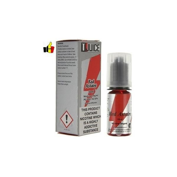E-Liquide Red Astaire TPD - TJuice / 10ml- taux de nicotine : 3 mg